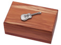 Guitar Emblem Cedar Box.
