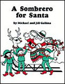 A Sombrero for Santa by Jill Gallina and Michael Gallina. For Choral (Parts). Shawnee Press. Book only. 24 pages. Shawnee Press #U0083. Published by Shawnee Press.  What a wonderful way to teach Spanish, music and the transportation unit at the same time! This charming musical play for elementary students takes Santa and the elves to Mexico to vacation and to learn Spanish. While there, they also learn the North Pole is snowbound, so they begin examining all the methods of Mexican transportation for their return – only to find a problem with each. Finally, they decide to set up the toy workshop there until Rudolph gets through with the sleigh. This delightful story – told in rhyme – features 21 Spanish words and six unison/2-part songs.  Minimum order 6 copies.