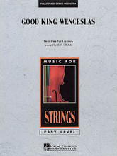 Good King Wenceslas arranged by John Cacavas. For Orchestra, String Orchestra (Score & Parts). Easy Music For Strings. Grade 2-3. Published by Hal Leonard.  The favorite English carol in a new treatment for young players.