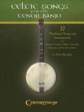 "Celtic Songs for the Tenor Banjo. (37 Traditional Songs and Instrumentals). By Dick Sheridan. For Banjo. Banjo. Softcover. Guitar tablature. 56 pages. Published by Centerstream Publications.  Jigs and reels, hornpipes, airs and dances! Songs and instrumentals! They're all here in an exciting collection drawn from the six Celtic ""nations"" of Ireland, Scotland, Wales, Cornwall, Brittany and the Isle of Man. Each traditional song – with its lilthing melody and rich accompaniment harmony –¦has been carefully selected and arranged for your complete enjoyment. Songs are presented in both note form and tablature with chord symbols and diagrams that are large and easy to read. Lyrics and extra verses are included for many songs. And for quick reference, songs are listed both alphabetically and by Celtic nation. Arrangements are for the tenor banjo in standard tuning: CGDA."