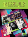 14 Pop Hits by Various. For Piano/Keyboard. Big Note Songbook. Softcover. 90 pages. Published by Hal Leonard.  Developing pianists will love to play the songs in this collection from stars such as Adele, Beyoncé, Coldplay, Lady Gaga, One Direction, and Taylor Swift. Songs include: Home • I Knew You Were Trouble. • Just the Way You Are • Need You Now • Poker Face • Rolling in the Deep • Some Nights • Teenage Dream • Viva La Vida • What Makes You Beautiful • and more.