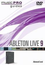 Ableton Live 9. (Advanced Level). Music Pro Guide Books & DVDs. DVD. Published by Hal Leonard.  With its dedication toward continued innovative audio/MIDI production and performance development, Ableton Live has become the performing musician's application of choice. Award-winning version 9 takes a huge step forward with a wealth of new effects and many workflow improvements, including: multitrack recording up to 32-bit/192 kHz; advanced warping and real-time time-stretching; umlimited instruments, audio effects, and MIDI effects per project; VST and audio unit support; track freeze, and audio extraction to MIDI, and many improved functions.