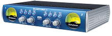 BlueTube(TM) DP V2 (2-Channel Mic/Instrument Tube Preamp). Hardware. General Merchandise. Published by Hal Leonard.  Enjoy solid-state clarity or tube warmth with the BlueTube DP dual-path mic/instrument preamp, which features both PreSonus classic Class A XMAX™ solid-state mic preamplifier and a high-output, 12AX7 tube preamp that operates on voltages double that of other preamps in its class, providing lots of headroom and big tone. A Tube Drive control produces anything from gentle warmth to edgy distortion. With two combo mic/instrument inputs, the half-rack space BlueTube DP is a great choice for guitars and basses as well as vocals.