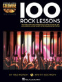100 Rock Lessons (Keyboard Lesson Goldmine Series Book/2-CD Pack). For Piano/Keyboard. Piano Instruction. Softcover with CD. 208 pages. Published by Hal Leonard.  Expand your keyboard knowledge with the Keyboard Lesson Goldmine series! The series contains four books: Blues, Country, Jazz, and Rock. Each volume features 100 individual modules that cover a giant array of topics. Each lesson includes detailed instructions with playing examples. You'll also get extremely useful tips and more to reinforce your learning experience, plus two audio CDs featuring performance demos of all the examples in the book!  100 Rock Lessons explains: chords, scales and progressions; comping basics; bass lines and right-hand fills; electronic keyboards; recording tips; and much more.