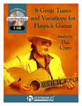 8 Great Tunes and Variations for Flatpick Guitar by Dan Crary. For Guitar. Homespun Tapes. Book with CD. Guitar tablature. Homespun #CDCRARP01. Published by Homespun.  One of the world's premier acoustic lead guitarists teaches eight of his most requested show-stoppers, demonstrating them up to speed and then slowing each one down to explain the finer points of flatpicking. He includes well-known Irish and American fiddle tunes and two of his own astounding compositions. Includes: Billy in the Low Ground • Forked Deer • McCahill's Reel • Irish Waltz • Cotton Patch Rag • Sweet Laree • Tom and Jerry • Memories of Mozart.  60-MIN. CD • INCLUDES MUSIC + TAB • LEVEL 4.