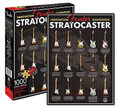 "Fender Stratocaster - 1000-Piece Jigsaw Puzzle (20 inch. x 27 inch.). Accessory. General Merchandise. Aquarius #65236. Published by Aquarius.  Calling all strat players and puzzle enthusiasts! This fun ""innovation inspiration"" 1,000-piece jigsaw puzzle is just want you need. It measures 20″ x 27″ when assembled."