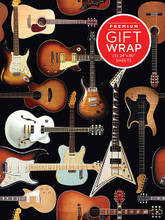 Accessory. General Merchandise. Published by Hal Leonard.  Music-themed wrapping paper perfect for wrapping gifts for the musician in your life! Each set includes 3 sheets of 24″ x 26″ wrapping paper, folded with cardboard for rigidity.