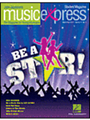 "Choral (Student 10Pk) March/April 2011. By Quincy Jones. By John Higgins, John Jacobson, Kirby Shaw, Lionel Richie, Louise Talma (1906-1996), Michael Jackson, Randy Newman, and Roger Emerson. Music Express. Published by Hal Leonard.  Songs: Be a Star!, You've Got a Friend in Me (from Toy Story), Why Tell a Lie?, We Are the World, Silly Sixties, Up!, Listening Lab: ""The Clocks"" from Soundshots (Louise Talma), John Jacobson's Musical Planet: Ireland, and more! Package contains 10 Student Magazines. Also Available: Teacher Magazine/CD, Complete Pak."
