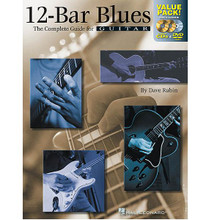 "12-Bar Blues - All-in-One Combo Pack. For Guitar. Guitar Educational. Book & CD & DVD Package. Guitar tablature. 88 pages. Published by Hal Leonard.  The term ""12-bar blues"" has become synonymous with blues music and is the basis for an incredible body of jazz, rock 'n' roll, and other forms of popular music. This book/CD/DVD package is solely devoted to providing you with all the technical tools necessary for playing 12-bar blues with authority. You'll learn blues styles like Chicago, minor, slow, bebop, and more, while focusing on boogie, shuffle, swing, riff, and jazzy blues progressions. 49 full-band tracks are included on the accompanying CD, and the DVD includes a complete one-hour course!"