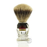 Semogue 2040 HD Shaving Brush (Silvertip)