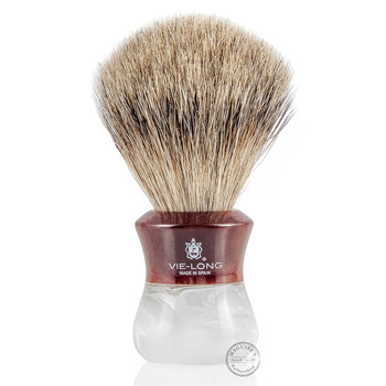Vie-Long 14080 Mix Badger and Horse Hair Shaving Brush