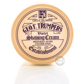 Geo F Trumper Violet Soft Shaving Soap Pot - 200g