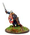 SAGA-131  Anglo-Saxon Warlord  w/Sword Advancing (Foot)