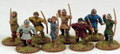 SAGA-180  Carolingian Franks Warriors w/ Bow (Levy)