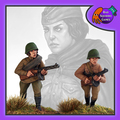 BAD-22 Female SovietInfantry w/ SMG