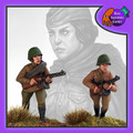 BAD-35 Female Soviet Infantry w/ SMG
