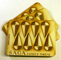 SAGA-14  MDF Fatigue Markers-Kite Shield Tokens