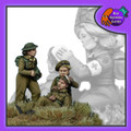 BAD-36 British Field Medic w/ wounded soldier