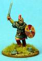 SAGA-433 Visigoth Warlord advancing w/ sword
