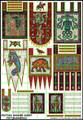 LBM-133 Pict Banner & shield Sheet