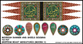 LBM-135 Moor Banner & Shield Sheet