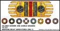 LBM-138 Islamic Banner & Shield Sheet