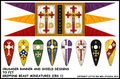 LBM-139 Crusaders Banner & Shield Sheet