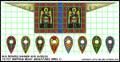 LBM-140 Pagan Rus Banner & Shield Sheet