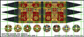 LBM-148 Scottish Banner & Shield Sheet