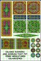 LBM-164 Islamic Banner Sheet