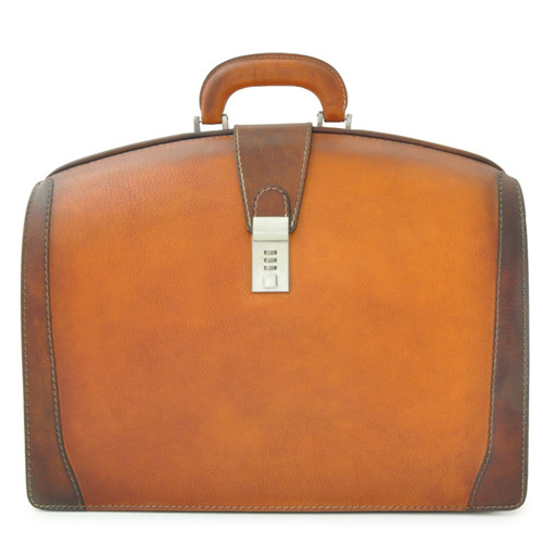 Brunelleschi Bruce Grande  Briefcase for Laptop - Brown Main View