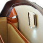 Brunelleschi Bruce Grande Briefcase for Laptop -Brown  Iniside View