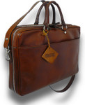 Cortona Soft briefcase - Brown Main View