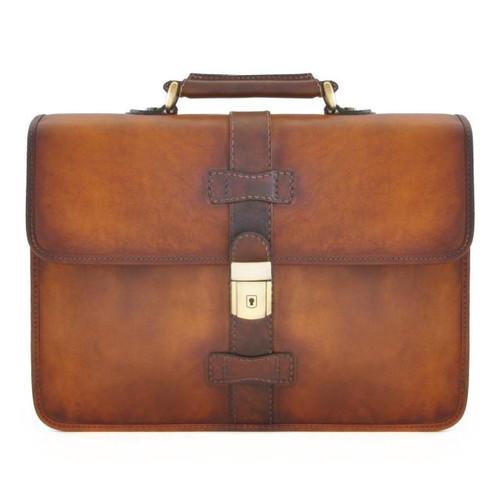 Pratomagno Briefcase - Brown