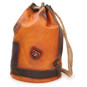 Patagonia: Bruce Range Collection: Italian Calf Leather Single Compartment Rope Handle Backpack in - Cognac