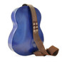 Filicaja: Radica Range Collection – Italian Calf Leather Guitar Backpack in - Back View