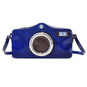 Photocamera: Radica Range Collection – Italian Calf Leather Shoulder Bag in Electric Blue