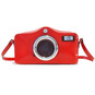Photocamera: Radica Range Collection – Italian Calf Leather Shoulder Bag in Cherry