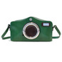 Photocamera: Radica Range Collection – Italian Calf Leather Shoulder Bag in Green