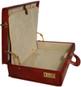 Machiavelli: Radica Range Collection – Grande Italian Calf Leather Attache Briefcase - Cross View
