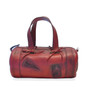 Marisol: Bruce Range Collection – Italian Calf Leather Duffel Tote Bag in Cherry