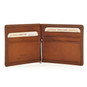 Casa Buonarroti: Bruce Range Collection – Italian Calf Leather Bi-Fold Flap Men's Wallet (Open view interior)