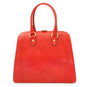 Saturnia : Radica Range Collection – Grande Italian Calf Leather Top Handle Tote Handbag- Ciliegia