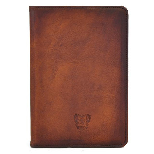 iPad Mini Cover : Bruce Range Collection – Italian Calf Leather iPad Mini Cover in Brown