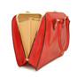 Saturnia: King Croco Range Collection – Grande Italian Calf Leather Top Handle Tote Handbag in Radica Range Finish Open View
