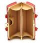Saturnia: King Croco Range Collection – Grande Italian Calf Leather Top Handle Tote Handbag in Radica Range- Inside View