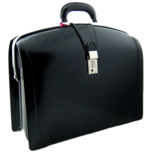 Brunelleschi - Radica Range Lawyer Briefcase in Black