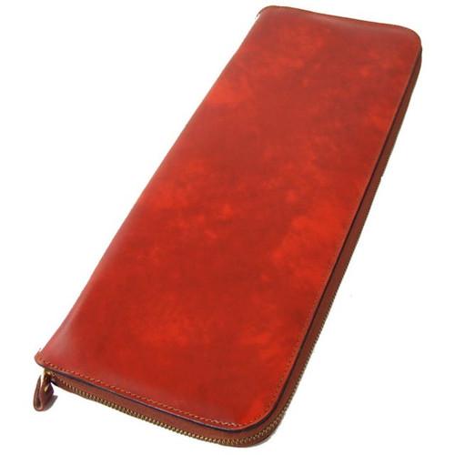 PratBuontalenti : Radica Range Collection – Italian Calf Leather Tie Case in Brown