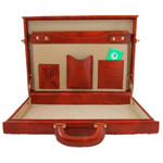 Pratesi Machiavelli Slim Attache Case - Multiple Holders