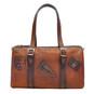 Berna : Bruce Range Collection – Italian Calf Leather Buckle Duffel bag in Brown